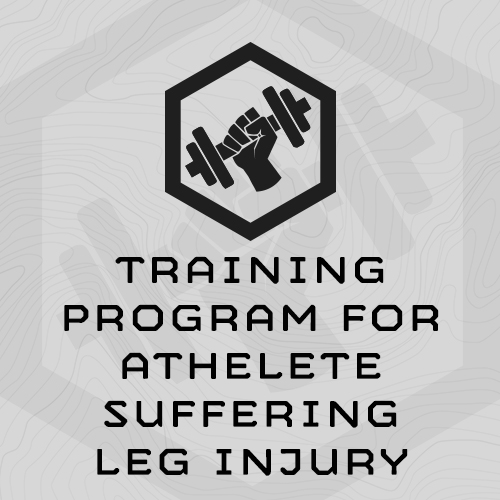 g-training-program-for-athelete-suffering-leg-injury