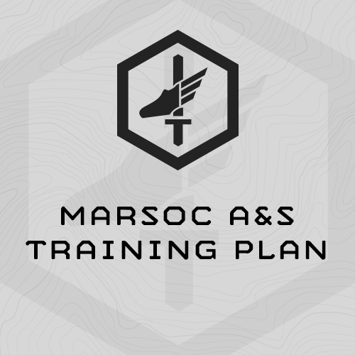 mi-marsoc-aands-training-plan