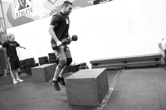 2014-11-06 LE loaded box jump