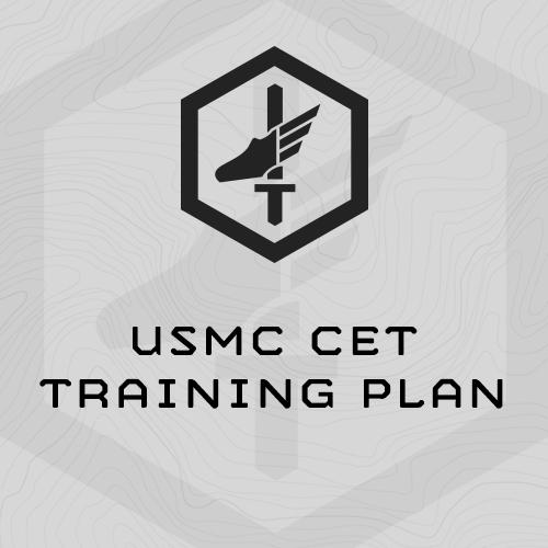 Usmc Cet Training Plan