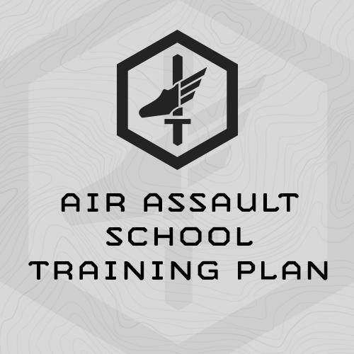 mi-air-assault-school-training-plan