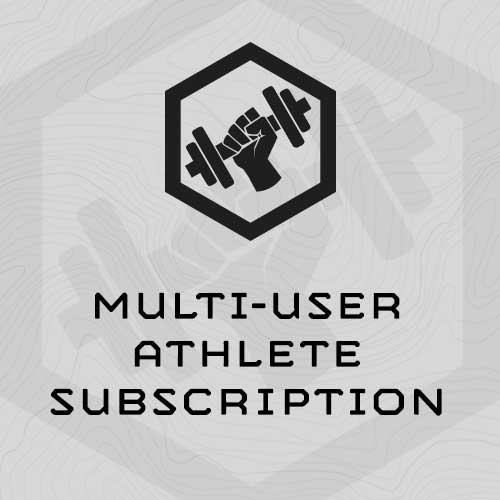 multi-user-athlete-subscription
