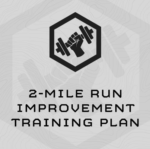 2-Mile Run Improvement Training Plan