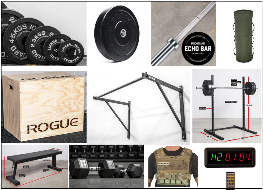Garage gym olympic weight plates new products for